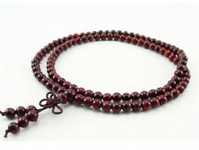 Top Quality Tibetan 108 8mm Rosewood Buddhist Prayer Beads Mala Necklace -33""