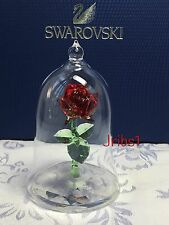 Swarovski ENCHANTED ROSE Crystal Figurine 5230478 DISNEY BEAUTY and the BEAST