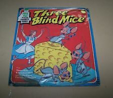 Vintage Three Blind Mice Peter Pan Records 45 RPM Children's Record #F1217