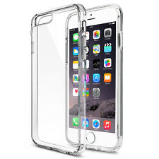 For iPhone 6S Plus Clear Scratch Resistant Shock-Absorbing Hard Back Panel Case