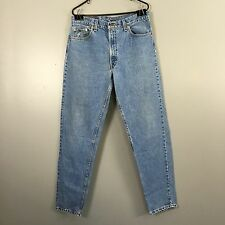 RARE Vintage USA Made Levi's 550 Relaxed Tapered Dad Jeans Mens 34 x 33
