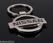 NISSAN Logo Car Keychain LASER Etched Zinc Alloy Car Men Metal Key chain Ring
