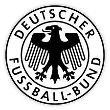 Germany Deutscher fussball football calcio adesivo etichetta sticker 10cm x 10cm