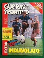 GUERIN SPORTIVO 1986 n 41 con EXTRA TORINO , FILM DEL CAMPIONATO
