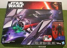 STAR WARS FORCE AWAKENS FIRST ORDER SPECIAL FORCES TIE FIGHTER with PILOT