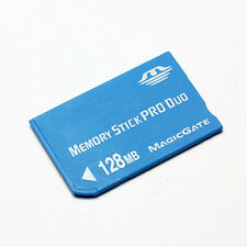 New 128MB Memory Stick Pro Duo Card, MS 128MB Memory Card with Adapter and Case