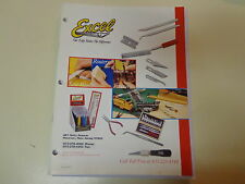 Excel Hobby Blades Dealer Catalog 2001 Saws Knives Scissors Tool Sets