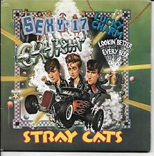 STRAY CATS  rare double 45 package with PicSleeve  BRIAN SETZER