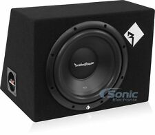 "Rockford Fosgate R1-1X10 Prime R1 200W 10"" Loaded Sealed Car Subwoofer Enclosure"