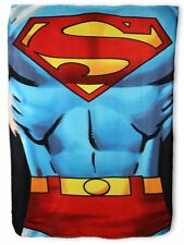 Superman Fleecedecke Original Logo Polar Fleece Blanket DC Kinder Kuscheldecke