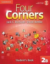 Four Corners Level 2 Student's Book B with Self-study CD-ROM-ExLibrary