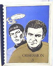 1984 Star Trek Classic Fanzine Collection-Obsession #3- Mature Content