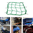Motorbike Motorcycle Cargo 6 Hooks Hold Down Net Bungee Baggage Luggage Band UF