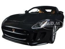 2015 JAGUAR F-TYPE R COUPE MATT BLACK 1/18 MODEL CAR BY AUTOART 73652