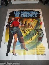 QUATERMASS AND THE PIT - ORIGINAL HUGE FRENCH POSTER - 1968 - BARBARA SHELLEY