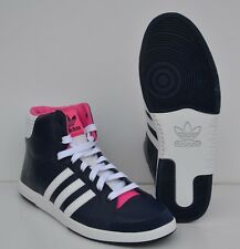 Chaussure femme ADIDAS ORIGINALS COURT SIDE HI W  MARINE :41 1/3 UK7.5Ref:V24343