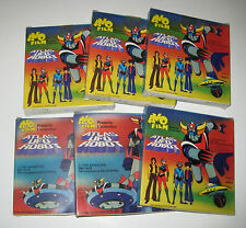 ATLAS UFO ROBOT super 8 AVO Film LOTTO 6pz Goldrake