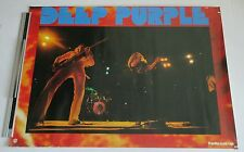 DEEP PURPLE original JAPAN PROMO ONLY 1970s POSTER official USED more listed!