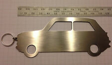 Large Oldschool Mini Key Ring Silhouette Cooper John Cooper Works One