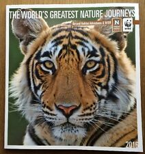 World Wildlife Fund Greatest Nature Journeys Adventure Catalog 2016 Travel
