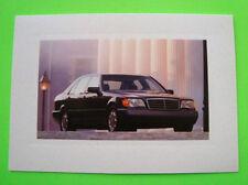 TWELVE (12) 1998 Mercedes Benz S-Class BLANK NOTE CARDS Folder Cards XLNT+