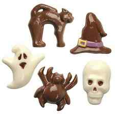 PME Halloween Skull Ghost Sombrero Chocolate Lollipop Lollypop Pops Candy Molde Molde
