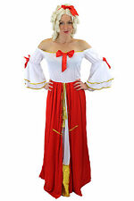 Ladies fancy dress Costume Dress Princess Queen Noblewoman Victorian L035 40 (M)