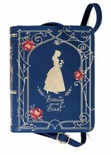 NEW Disney Beauty and The Beast Belle Book Purse Bag Strap NWT HTF