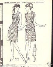 Patron de couture Femme d'Aujourd'hui La robe Pratique  taille 42