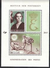 Belgium 1966 Queen Elisabeth National Anti-Tuberculosis League MNH S/S Sc # B789