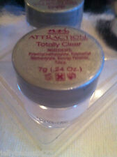New totally clear attraction ACRYLIC nail POWDER 7g NSI SMALL POT unopened
