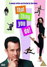 That Thing You Do! Tom Hanks, Liv Tyler, Charlize Theron NEW SEALED UK R2 DVD