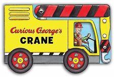 NEW - Curious George's Crane (mini movers shaped board books)