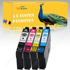 4x No-Name kompatible Patronen für Epson XP335 / XP430 Series DiSa E008