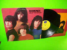 Ramones ‎– End Of The Century Vintage 1980 Vinyl LP Record PROMO Cover Punk Rock