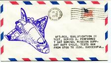 1979 AFT-RCS Qualification I Test Series 3 Mission Support Duty Cycle SPACE USA