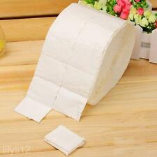 500X Nail Art Tips Manicure Polish Remover Cleaning Wipes Cotton Pads Lint Paper