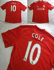 Joe COLE #10 The Reds FC LIVERPOOL home jersey shirt ADIDAS 2010-12 adult SIZE L