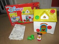 Disney Build A House Mickey Mouse, All Complete and in Perfect Condition Vintage