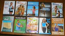 Wholesale Lot 10 Exercise/Fitness DVDs-Billy Blanks, Kathy Smith, Pilates, etc..