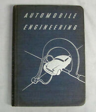 Vintage 1945 Automobile Engineering Volume 6 HC Book American Technical Society
