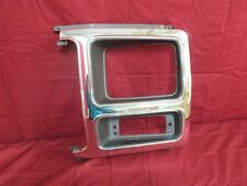 NOS OEM Ford Bronco F150 F250 F350  Pickup Head Light Door Bezel 1982 - 86 Left