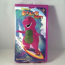 Barney's Beach Party VHS Tape