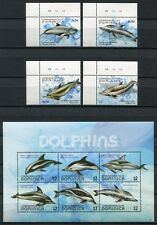DOMINICA 2009 Delphine Dolphins Meerestiere 3977-3986 ** MNH