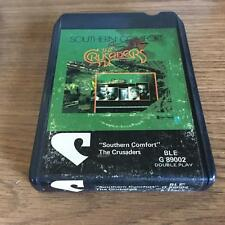 THE CRUSADERS SOUTHERN COMFORT VINTAGE RARE 8 TRACK TAPE STILL SEALED BARGAIN!