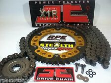 YAMAHA YZF R6 '06-15 SUPERSPROX 520 JT QUICK ACCEL CHAIN AND SPROCKETS KIT