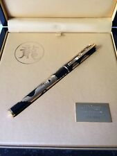 S.T. Dupont 2012 Limited Edition Dragon Large Fountain Pen, Item # 141855, NIB