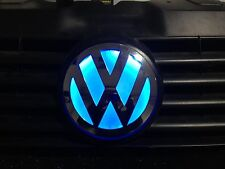 Glowing VW camper Grill Badge T5 Transporter Crafter Custom Badge