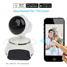Q6 HD 720P Wifi cámara vídeo 2 vías audio Talk PT Baby Monitor IR for Iphone6,6S