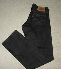Mens Levi's 514 Slim Straight Denim Jeans 29 x 32 (Actual 32 X 32 ) Dark Exc.